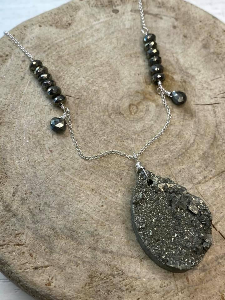 Raw Pyrite protection talisman