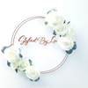 Personalised bespoke floral hoops available from our Online Creative Studio at A Little Cup of Helen. Perfect for business and gifts alike, this truly bespoke and unique gift is a sure fire hit for anyone.