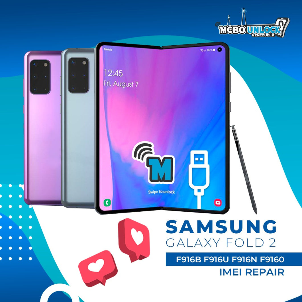 SAMSUNG GALAXY FOLD 2 BAD IMEI BLACKLISTED REPAIR FIX