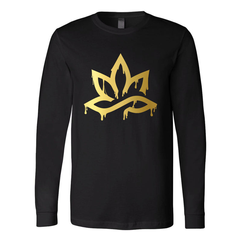 HPC METALLIC GOLD DAB LONG SLEEVE T-SHIRT