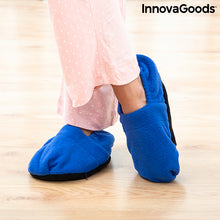Load image into Gallery viewer, Microwavable Heated Slippers InnovaGoods Blue