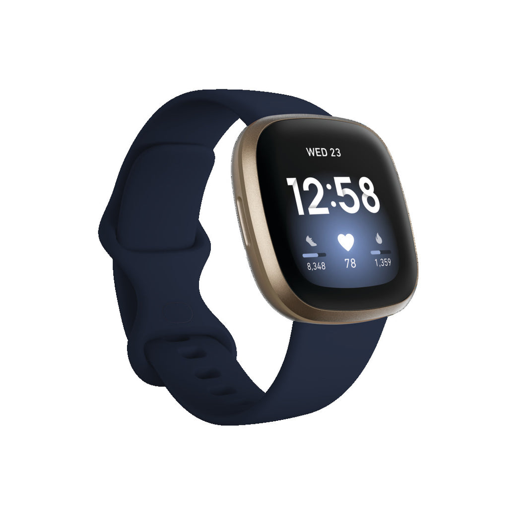 Fitbit Versa 3 Midnight/Soft Gold