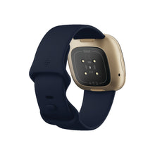 Load image into Gallery viewer, Fitbit Versa 3 Midnight/Soft Gold