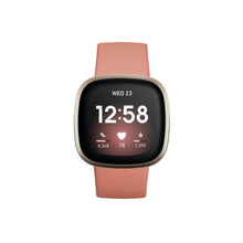 Load image into Gallery viewer, Fitbit Versa 3 Pink Clay/Soft Gold
