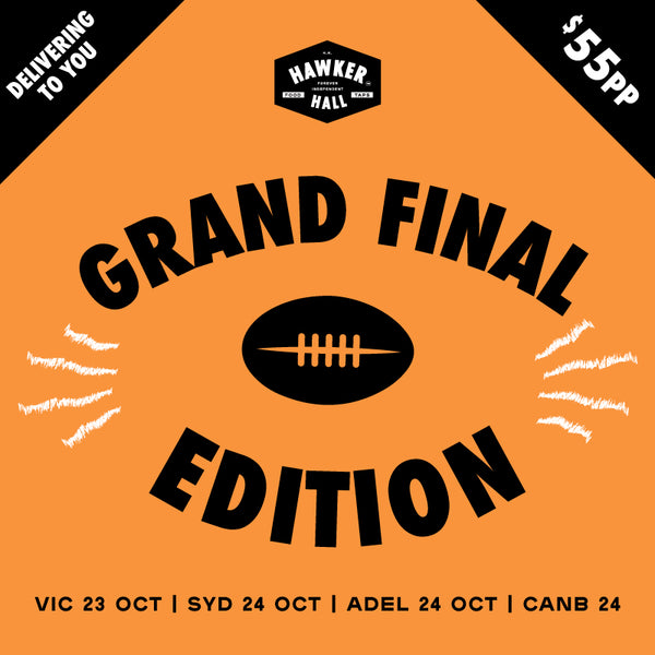 "HAWKER HALL ""Grand Final Edition"" (SERVES 2)"