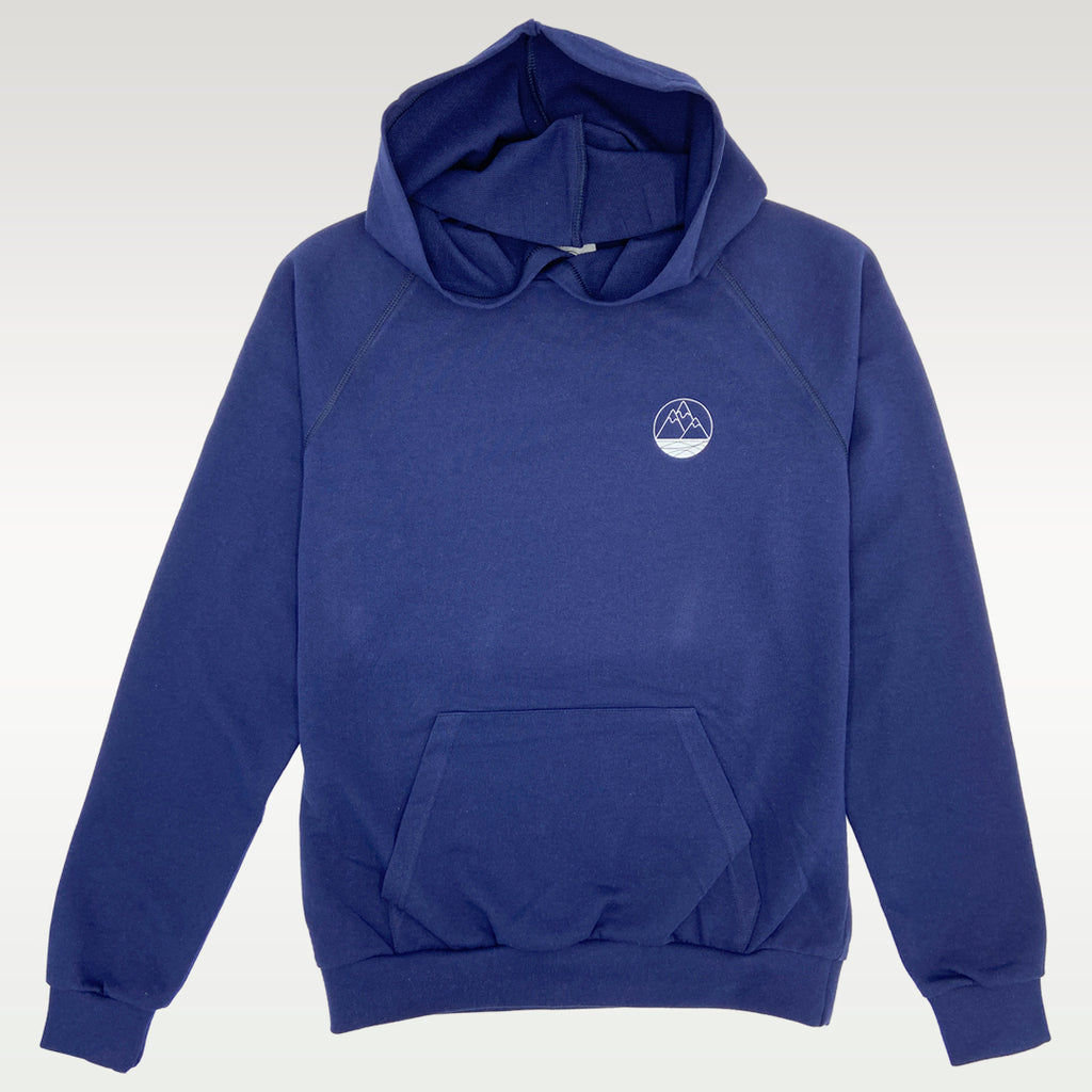 Sweat à capuche en matières 100% recyclées Youkan, made in france