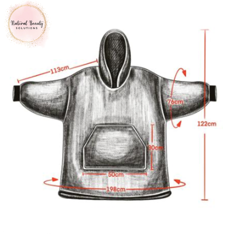 Snuggle hoodie chill blanket stay at home blijf thuis deken