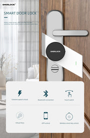 Fingerprint Smart Door Lock - Gadgetir
