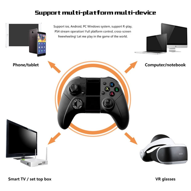 Multi Functional Wirless Gamepad - Gadgetir