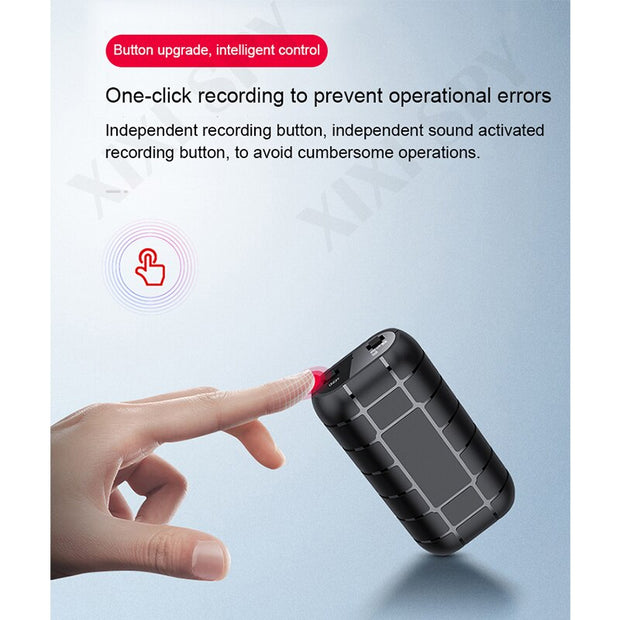 XIXI SPY 500hours Voice recorder - Gadgetir