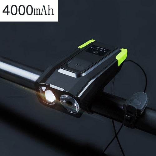 Rechargeable Bicycle Front Light Set - Gadgetir