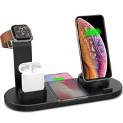 4 In 1 Wireless Charging Dock - Gadgetir