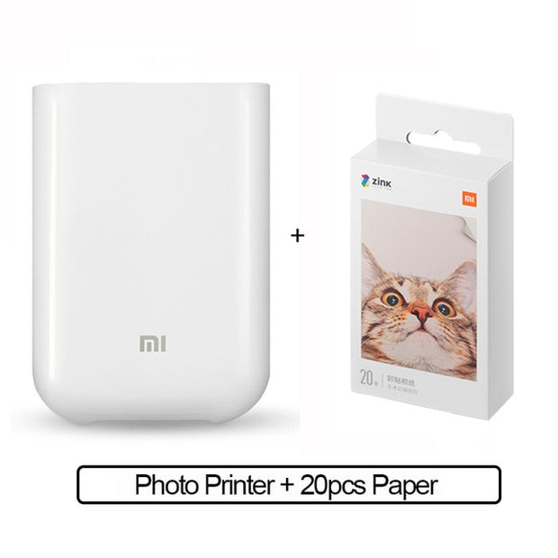 Portable Mini Pocket Printer - Gadgetir