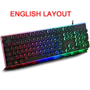 Glowing Gaming Keyboard - Gadgetir