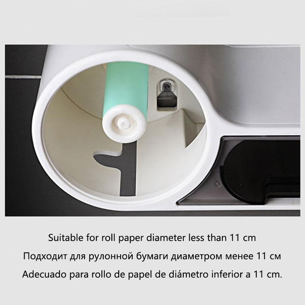Baffect Bathroom Toilet Paper Holder Paper Tissue - Gadgetir