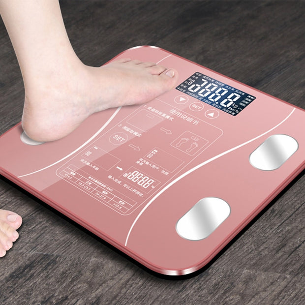 Bluetooth Body Fat Scale - Gadgetir