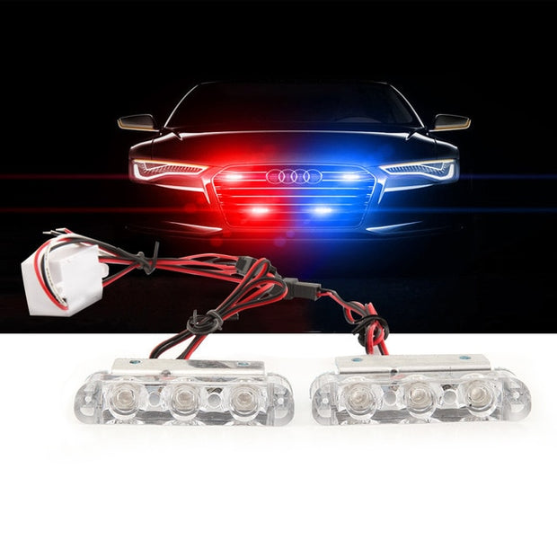 Police Flashing LED Lights - Gadgetir