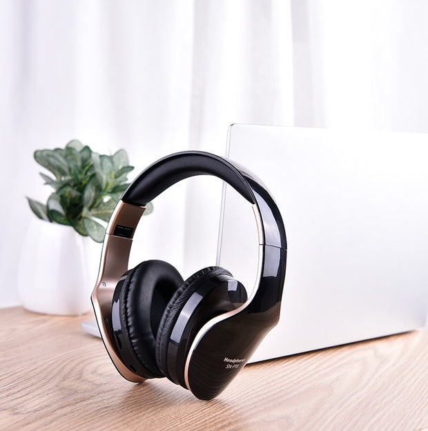 Wireless Bluetooth Headphones Headset - Gadgetir