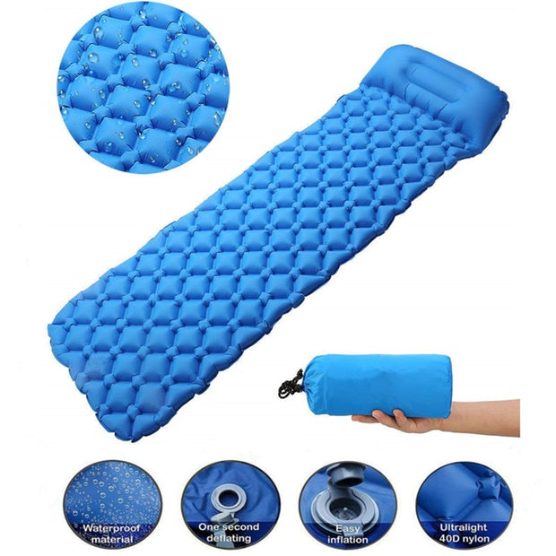 Inflatable Camping Mattress - Gadgetir