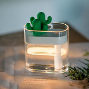 Clear Cactus Ultrasonic Air Humidifier - Gadgetir
