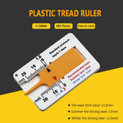 Auto Tyre Tread Depth Gauge Caliper - Gadgetir
