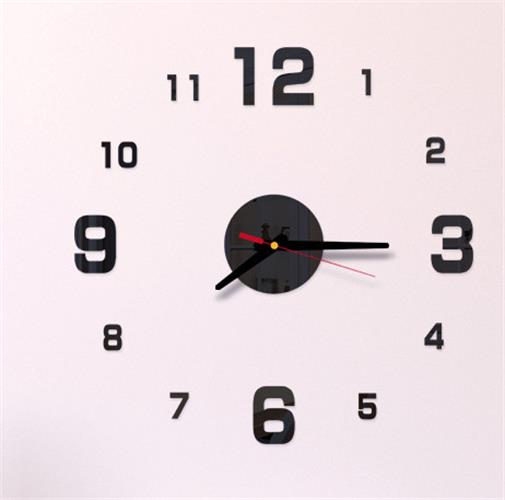 Mini DIY Wall Clock 3D - Gadgetir