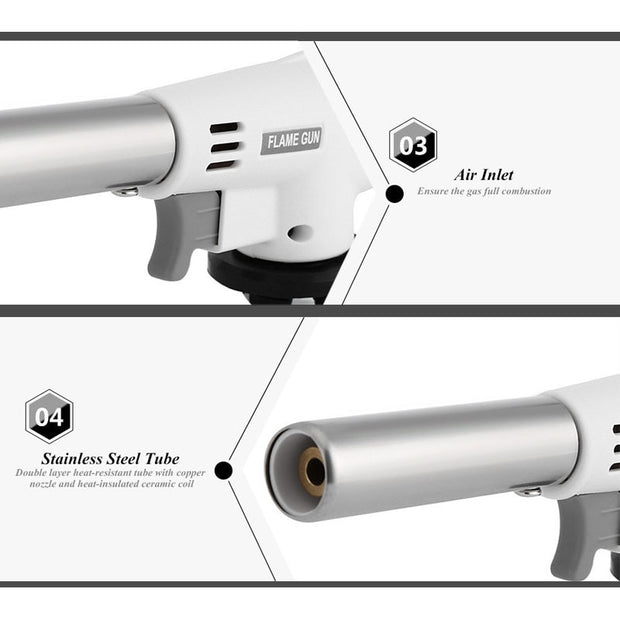 Wind Fully Automatic Electronic Flame Gun - Gadgetir