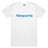 19esports Wordmark Short sleeve Tee - White