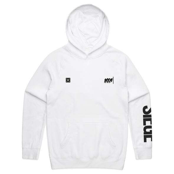 Rainbow Six Siege: Attacker Pullover Hoodie - White