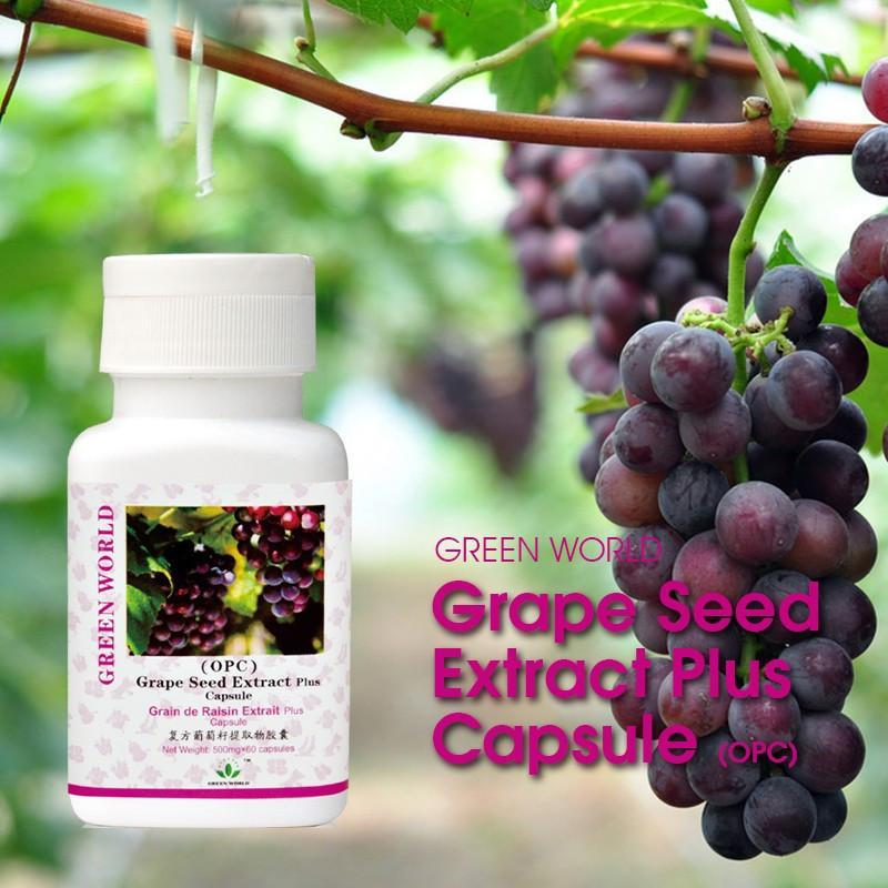 Grape Seed Extract Plus Capsule - Green World Products Shop