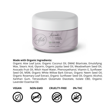 Load image into Gallery viewer, Lavender Corrective + Nourishing CBD FACE CRÈME