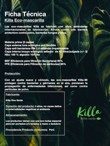Kit Eco-mascarillas Raíces