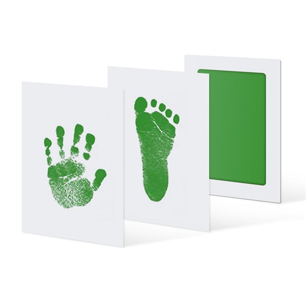 6Colors Baby Care Non-Toxic Handprint Kit Imprint Footprint Imprint Baby Souvenirs Newborn Baby Cushion Ink Footprint Infant Toy