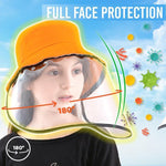 Load image into Gallery viewer, Safety Full Face Shield Hat