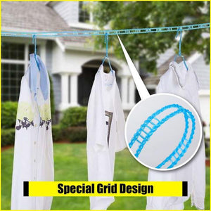 Windproof Portable Clothesline