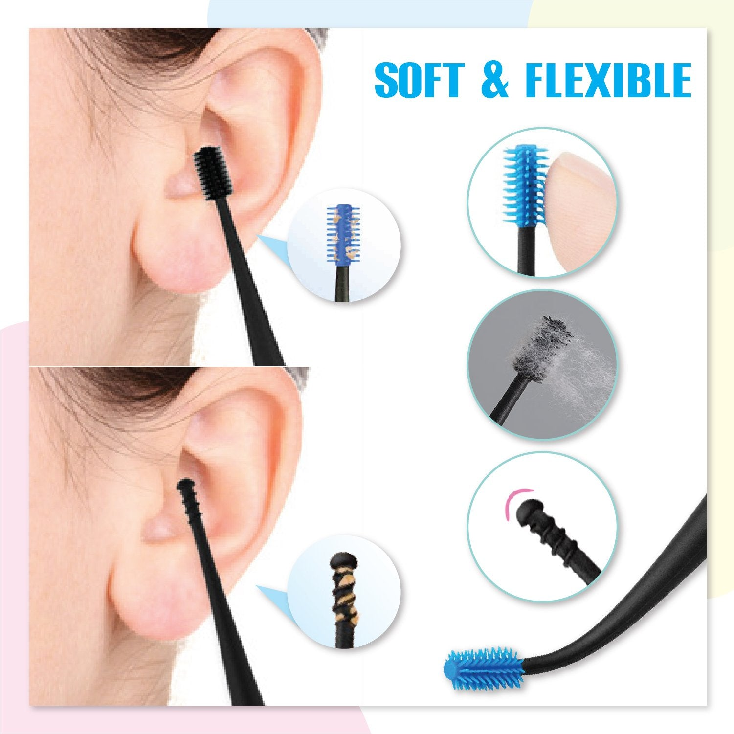 ComfyClean Dual-End Ear Pick