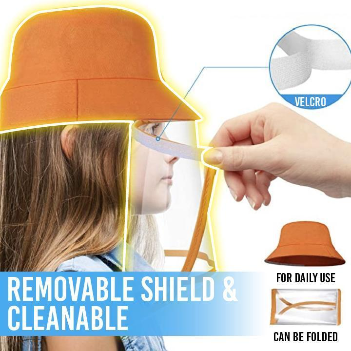 Safety Full Face Shield Hat