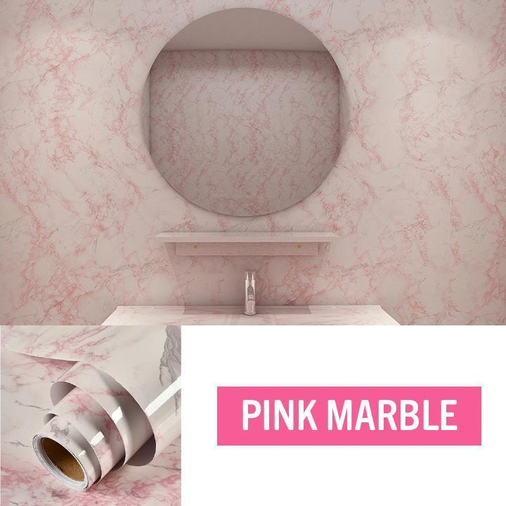 Waterproof Marble Contact Paper