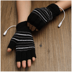 Load image into Gallery viewer, USB Heated Gloves