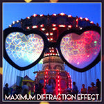 Load image into Gallery viewer, Sassy Heart Diffraction Glasses