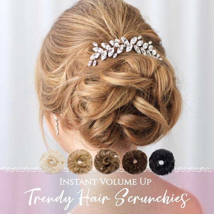 Instant Volume Up Trendy Hair Scrunchies