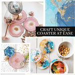 Load image into Gallery viewer, DIY Crystal Resin Coaster Kit