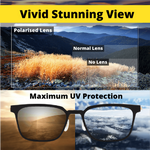 Load image into Gallery viewer, 5 in 1 Magnetic Clip-on Polarized Glasses