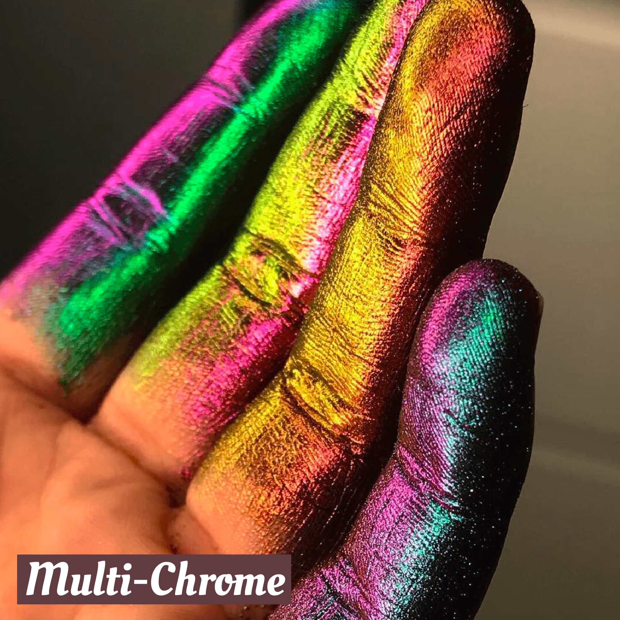 Polarized Glitter Shade Shifting Pigments