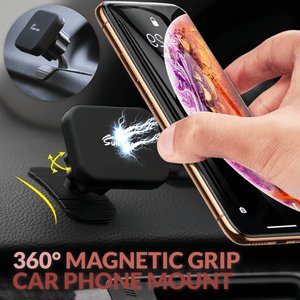 360° Magnetic Grip Car Phone Mount
