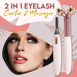Load image into Gallery viewer, 2-in-1 Eyelash Curler & Massager