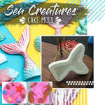 Load image into Gallery viewer, Sea Creatures Cake Mold