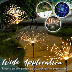 Load image into Gallery viewer, Solar Garden Fireworks Light (2pcs)