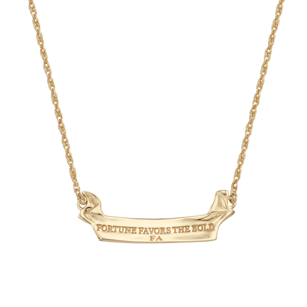 Fortune Scroll Necklace 1