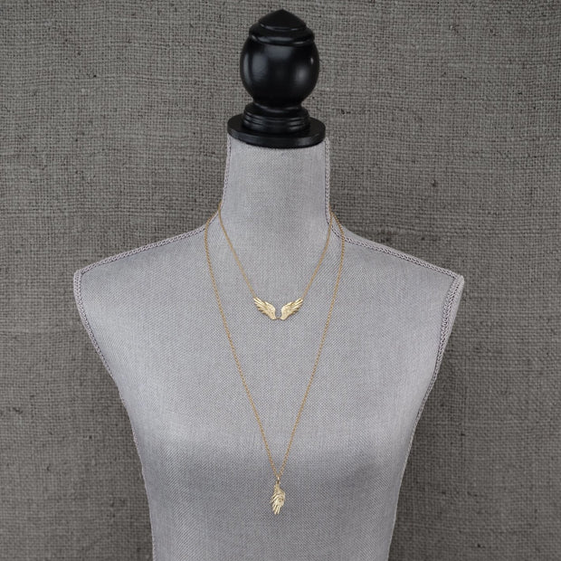 Angel Wing Necklace 1